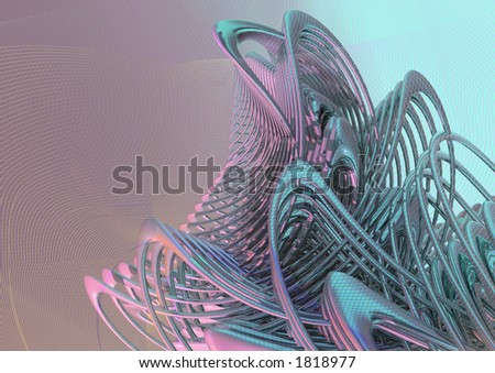 Conceptual abstract background - stock photo
