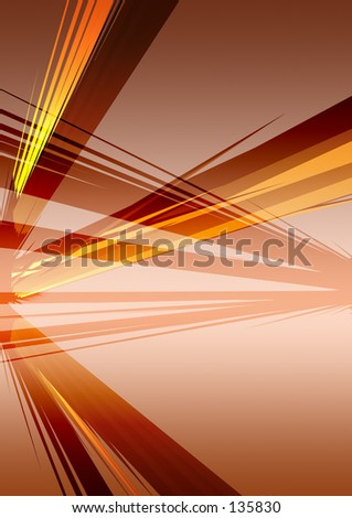 Conceptual Abstract Illustration 7 - stock photo