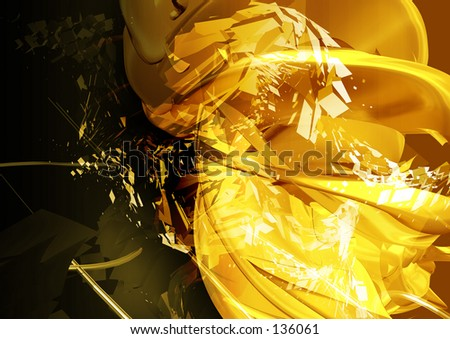 Conceptual Abstract Illustration 10 - stock photo