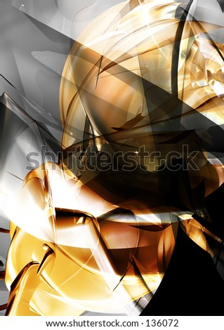 Conceptual Abstract Illustration 21 - stock photo