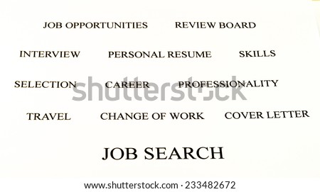 job search cover letters