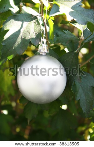 Conceptual Christmas ornament