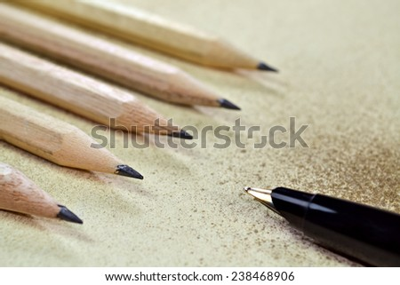 Conceptual expression of progress in education or career - stock photo