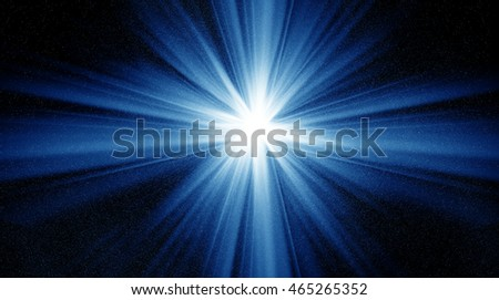 Conceptual image of space and stars. Furnished NASA image used for this image.