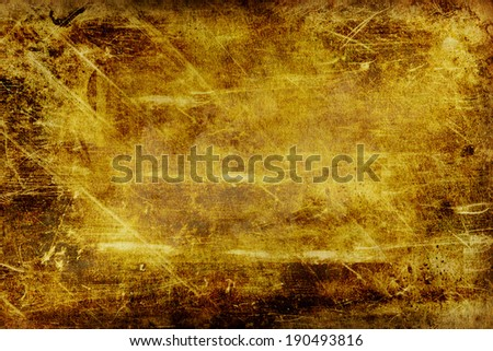 Conceptual old grunge paper background texture - stock photo