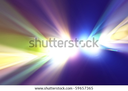 Concert bright light - stock photo
