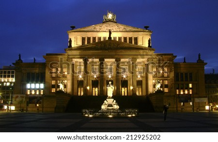concert house, Berlin, Germany