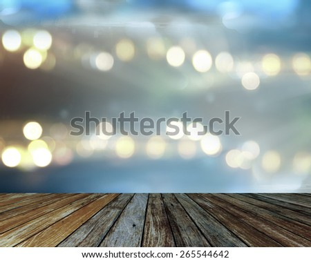 concert spot lighting over dark background - stock photo