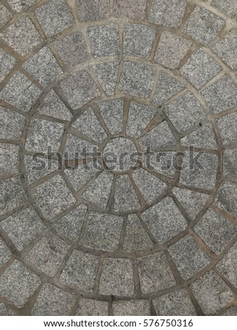 Circle roof dome stock photo 576754270 shutterstock for Concrete block floor