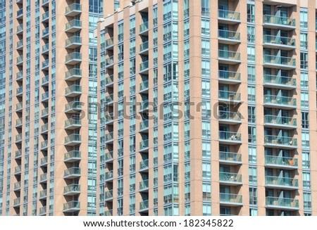 Concrete buildings - stock photo