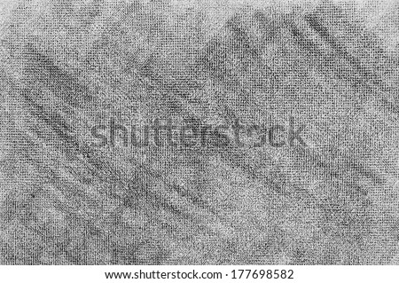 Concrete like background, hand drawing texture using graphite pencil. - stock photo