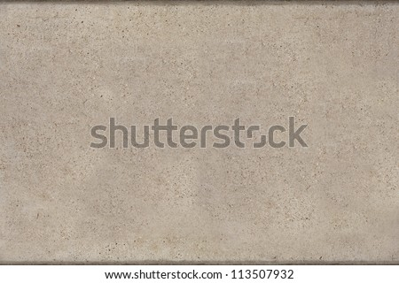 concrete pattern with lines on top and bottom - stock photo