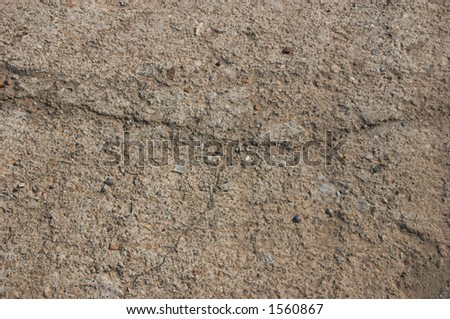 Concrete road with scratches background.