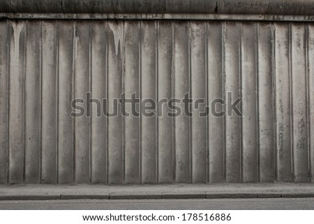 concrete slabs - stock photo
