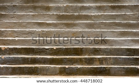 concrete stairs - stock photo