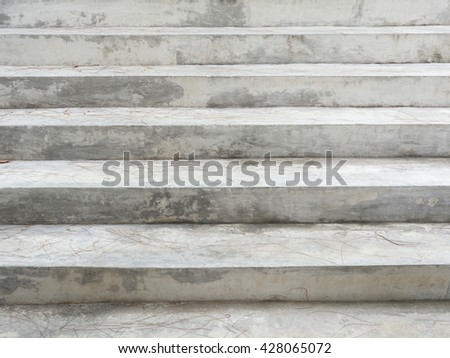 concrete stepstairs for background