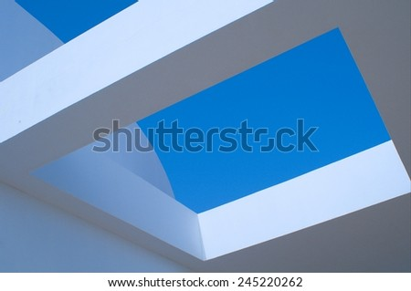 concrete structures - stock photo