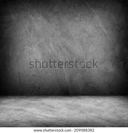 Concrete wall and floor texture , Grunge design