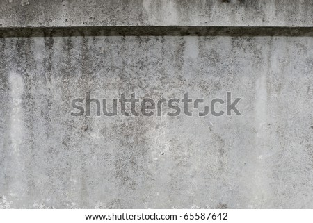 Concrete Wall as Background - stock photo