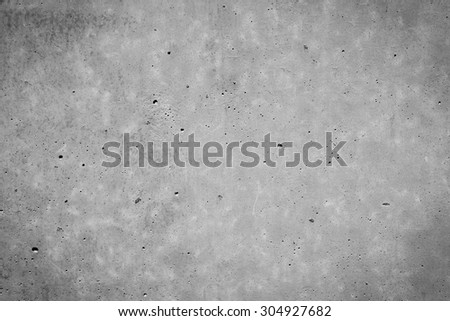 concrete wall background texture with dark edges - stock photo
