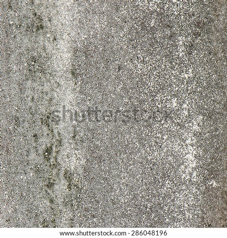 Concrete wall dirty with mold, Grunge wall texture or background.