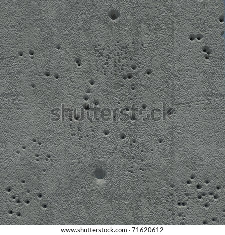 concrete wall texture with bullet holes. It can be used for 3d textured, and alpha channel