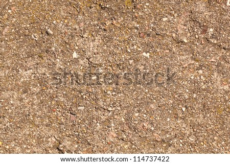 Concrete wall with cracks texture, can be used as background - stock photo