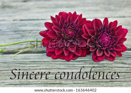 how to write a condolence card in italian