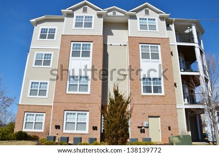 Condominium Garden Style Complex in Maryland, USA