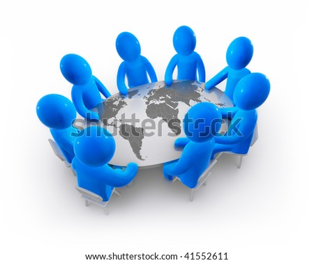 Conference - stock photo