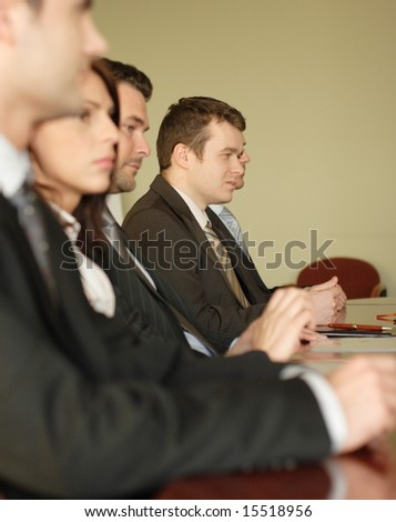 conference, group of business people - stock photo