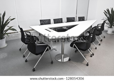 Conference Office - stock photo