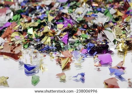 confetti background image  - stock photo