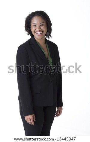 Confident African American Businesswoman
