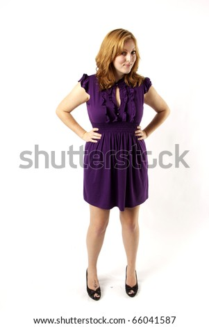Confident Young Woman - stock photo