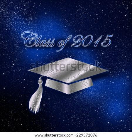 Congratulations Graduates, Class of 2015 - stock photo