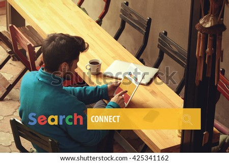Connect - stock photo