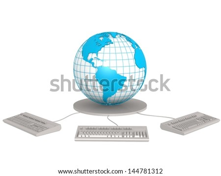 Connect to the globe