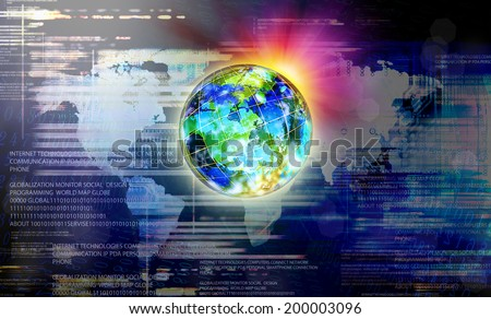 Connection Technology - stock photo