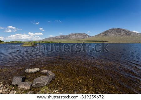 Connemara, County Galway, Ireland. - stock photo