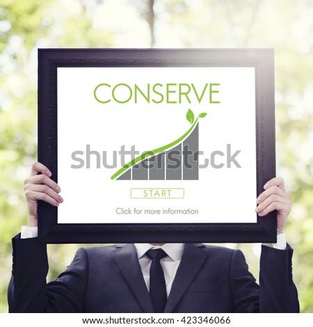 Conserve Ecology Environmental Preservation Concept - stock photo