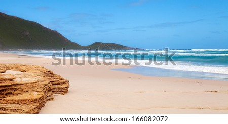 Conspicuous Beach, Walpole-Nornalup National Park, Western Australia  - stock photo