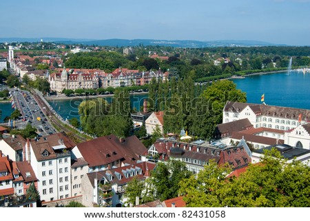 Constance town center and boden lake germany for Boden germany