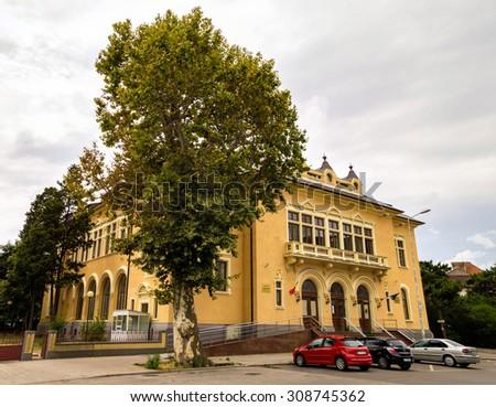 CONSTANTA, ROMANIA - AUGUST 22, 2015. Court  building in Constanta City, Romania. - stock photo