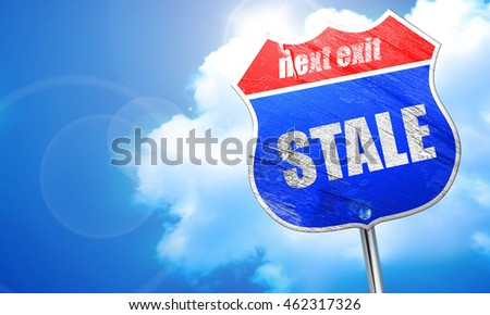 constantly, 3D rendering, blue street sign