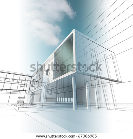 Architecture Building Drawing architectural drawing stock images, royalty-free images & vectors