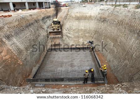 construction background - stock photo