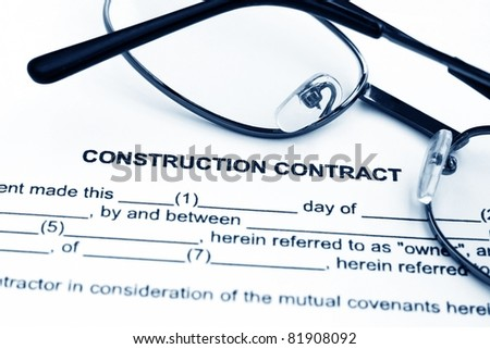 Construction Contract Photos RoyaltyFree Images Vectors – Construction Contract