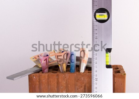 construction financing - stock photo