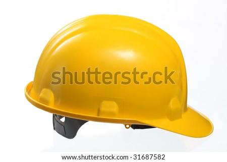 Construction hard hat helmet - stock photo